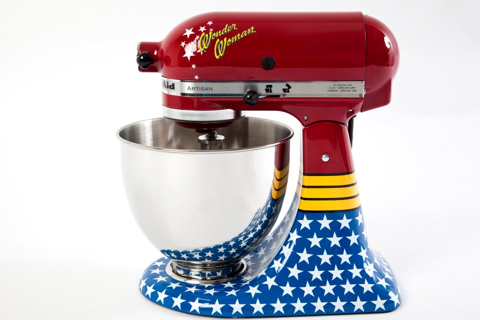 Merveilleux KitchenAid Brasil Is Offering Their Classic Mixer In A Wonderful, Wide  Variety Of New Patterns. Thereu0027s The Wonder Woman Mixer Which I ...
