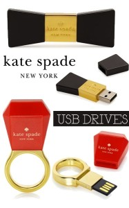 kate spade usb drives