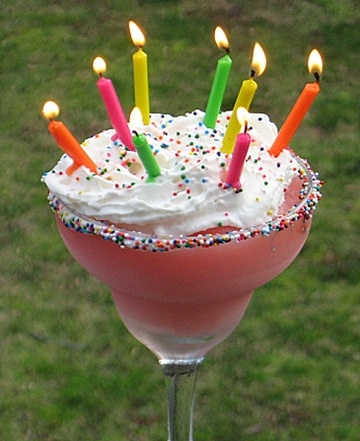 Alcoholic Birthday Cake Drink